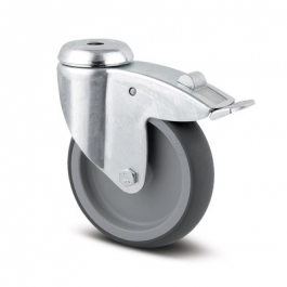 Agila - 2477PJO075P30-11 - Swivel Castors with total lock 75 mm -