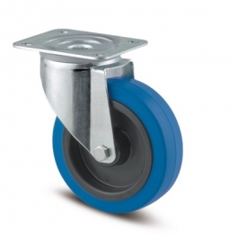 Alpha - 3470UFR100P62 blue - Swivel Castors 100 mm -