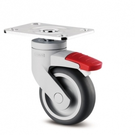 Levina - 5225PJO075P50 - Swivel Casters with wheel brake 2.95 inch -