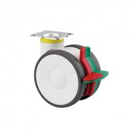 Linea - 594CXSP125P50 RAL9002 - Zintegrowany hamulec dwufunkcyjny 125 mm - Elektroprzewodzące  -