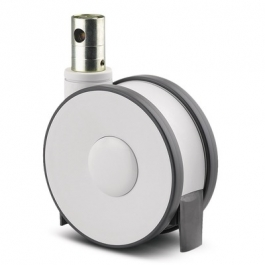Linea - 5944UAP150R36-32S30 CC R9002 - Swivel Castors with central, total or directional lock 150 mm -
