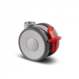 Linea - 5925UAP065L51-10 KICK PEDAL - Zestawy obrotowe z hamulcem koła 65 mm -