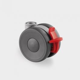 Linea - 5925POI065L51-10 KICK PEDAL - Zestawy obrotowe z hamulcem koła 65 mm -