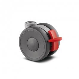 Linea - 5925POI065L51-10 - Zestawy obrotowe z hamulcem koła 65 mm -