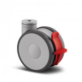 Linea - 5947UAP150P30-13 Kick Pedal ral7001 - Zestawy obrotowe z hamulcem totalnym 150 mm -