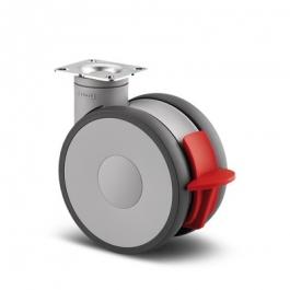 Linea - 5947UAP150P50 ral7001 - Zestawy obrotowe z hamulcem totalnym 150 mm -