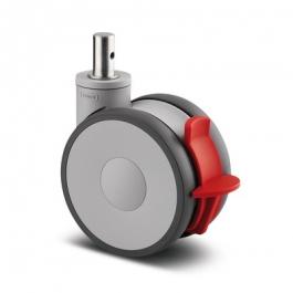 Linea - 5947UAP150R05-22 Kick Pedal ral7001 - Zestawy obrotowe z hamulcem totalnym 150 mm -
