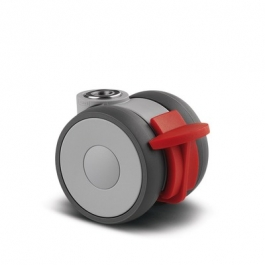 Linea - 5945UAP050L51-8  7011 - Swivel Casters with intermittend brake 1.97 inch -