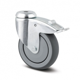 Agila - 2477PJP100P30-11 - Swivel Castors with total lock 100 mm -