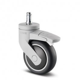 Levina - 5225PJP075B10 11x20 - Swivel Casters with wheel brake 2.95 inch -