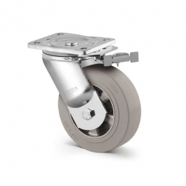 Kappa - 9651IFP160P63 - Swivel Casters with directional lock 6.30 inch -