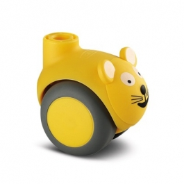 Smiles - 5520PJI050L51-10 CAT, Yellow - Swivel Castors 50 mm -