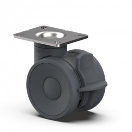 Linea - 5947UAP150P63 RAL7015 KICK PEDAL - Zestawy obrotowe z hamulcem totalnym 150 mm -