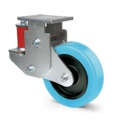 Omikron flex - 9858FCP200/50P63-75shA - Ruedas fijas 200 mm -