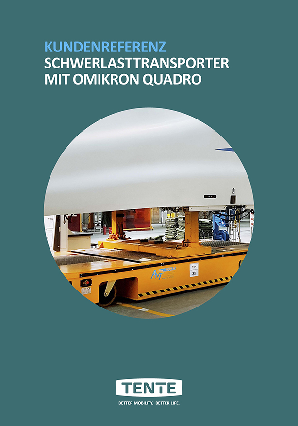 Heavy duty transporters with Omikron quadro