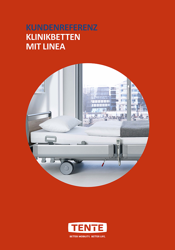 Hospital beds with Linea