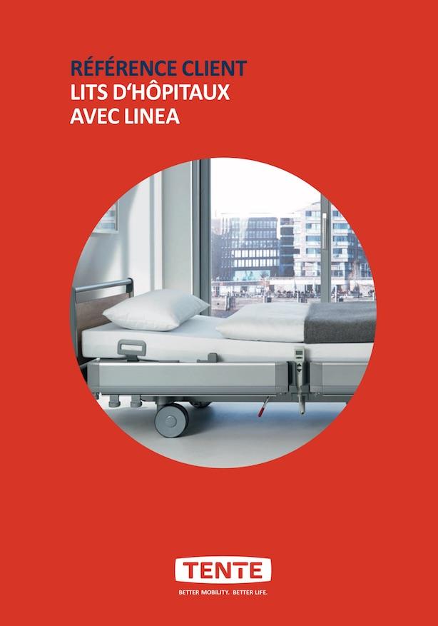 Hospital beds with Linea
