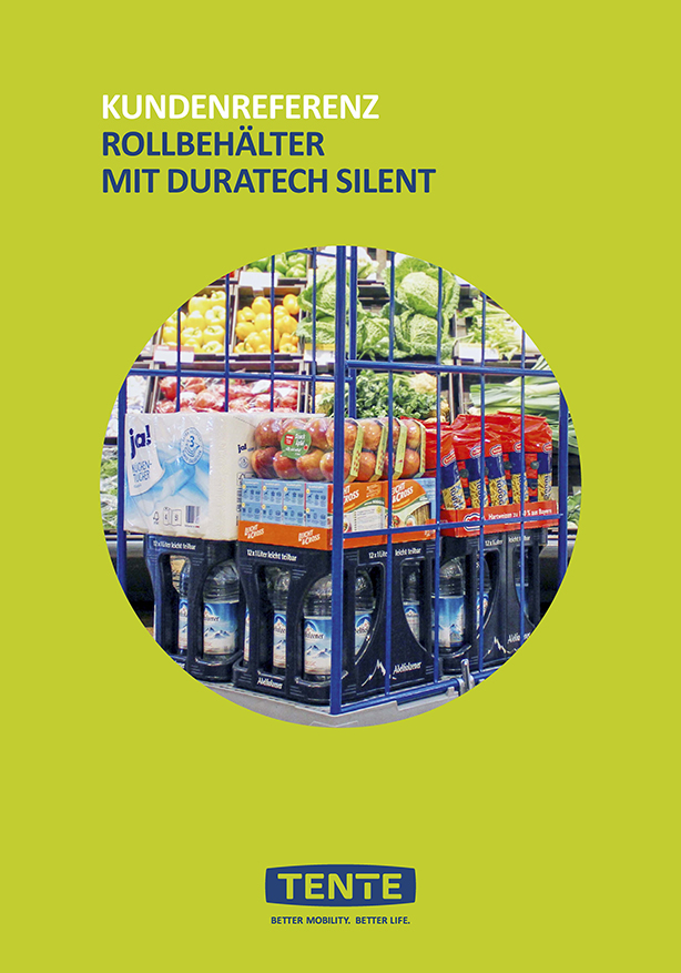 Roll containers with Duratech silent