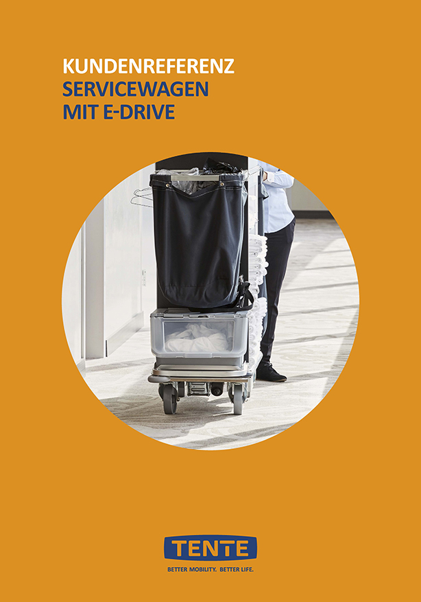 Service trolleys with E-Drive