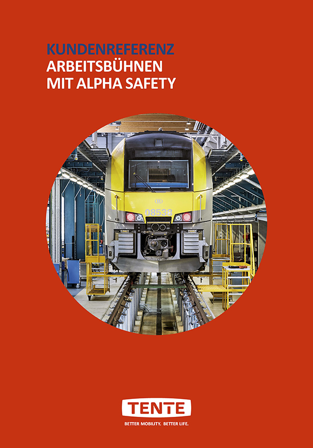 Work platforms with Alpha safety