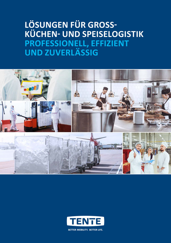 Solutions for commercial kitchens and food logistics