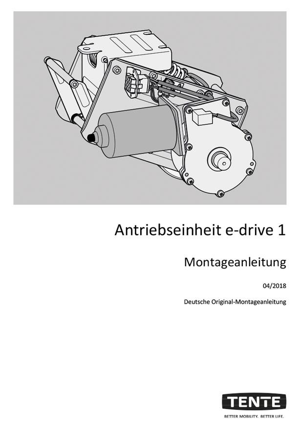 Montageanleitung E-Drive flex